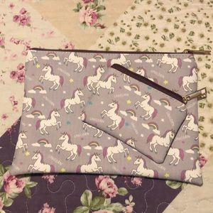 Handbags - Unicorn make up bag